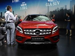 首都奔驰新款GLA上市 售价XX.XX-XX.XX万
